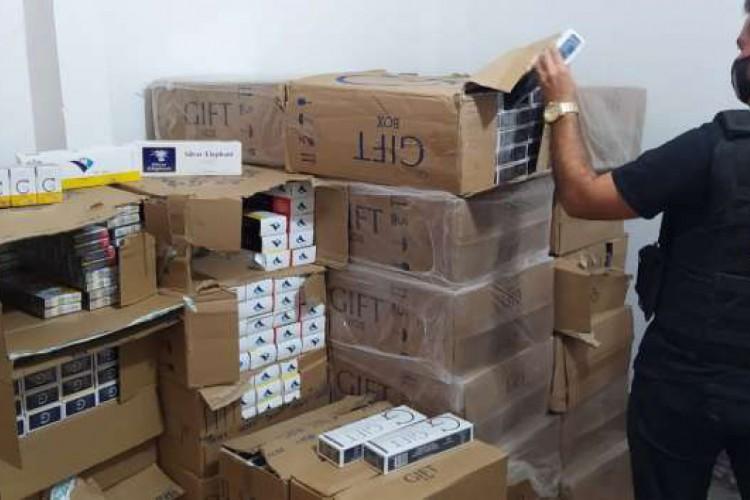 Material seria vendido em comércios da região (Foto: Reprodução/ SSPDS)