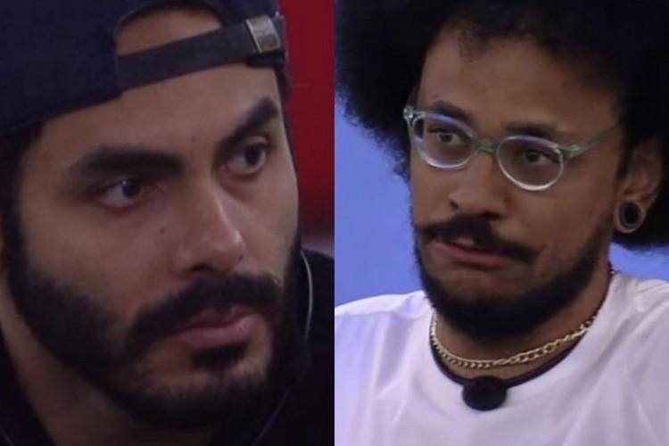 Rodolffo reafirmou fala sobre sobre cabelo de João Luiz no jogo da discórdia (Foto: Reprodução/TV Globo)