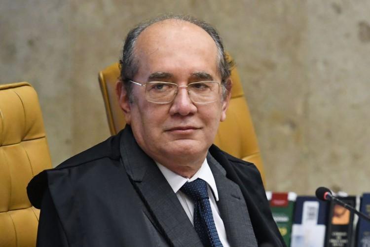 Gilmar Mendes vota para manter decreto que proíbe cultos religiosos  (Foto: CARLOS ALVES MOURA)