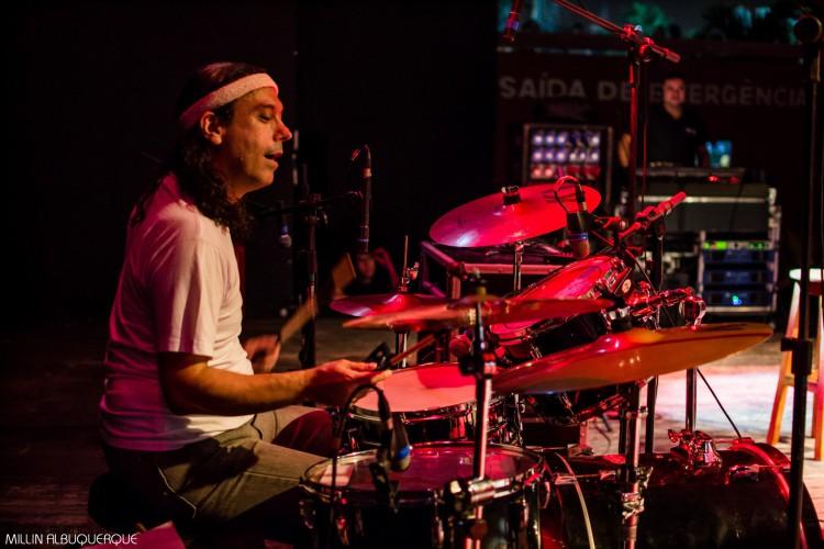 Carlinhos Perdigão atuou como produtor cultural e baterista (Foto: Divulgação/Millin Albuquerque)
