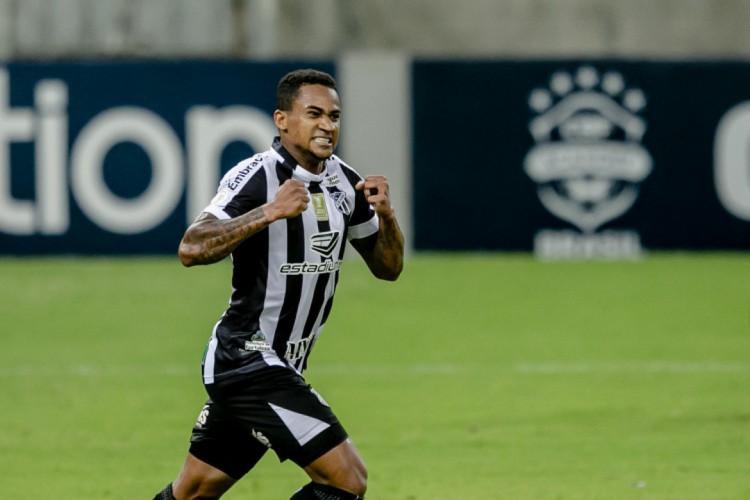 Eduardo disputou 32 partidas pelo Ceará (Foto: AURELIO ALVES/O POVO)
