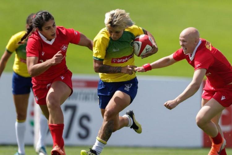 Brasileiras estreiam contra Japão em novo torneio de rugby em Dubai (Foto: )