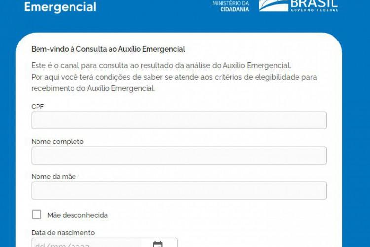 Consulta do auxílio emergencial 2021 pelo CPF pode ser feita no Portal da Dataprev (Foto: Reprodução/ Dataprev)