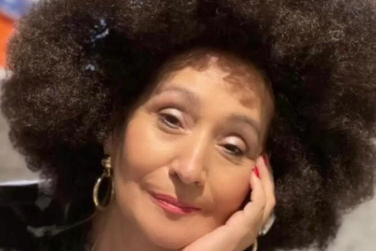 Sônia Abrão foi criticada durante após publicação usando peruca black power (Foto: Reprodução Instagram)