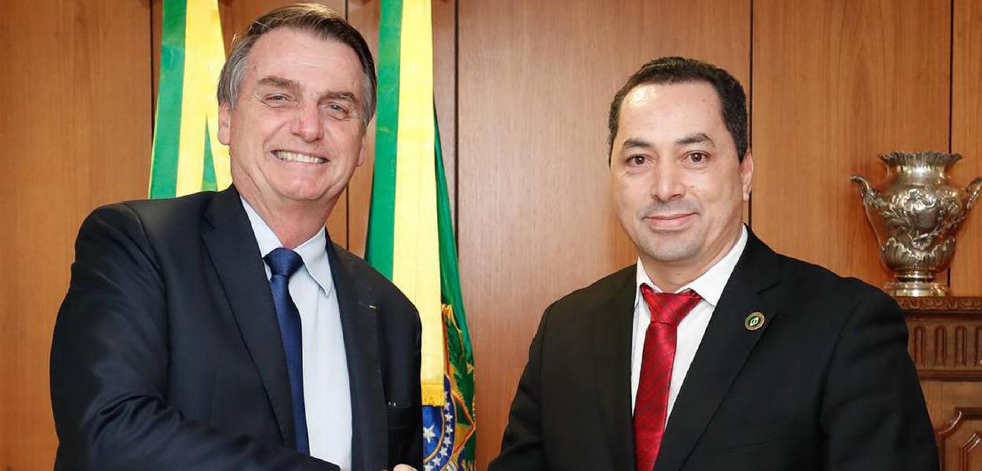 Bolsonaro e o empresário