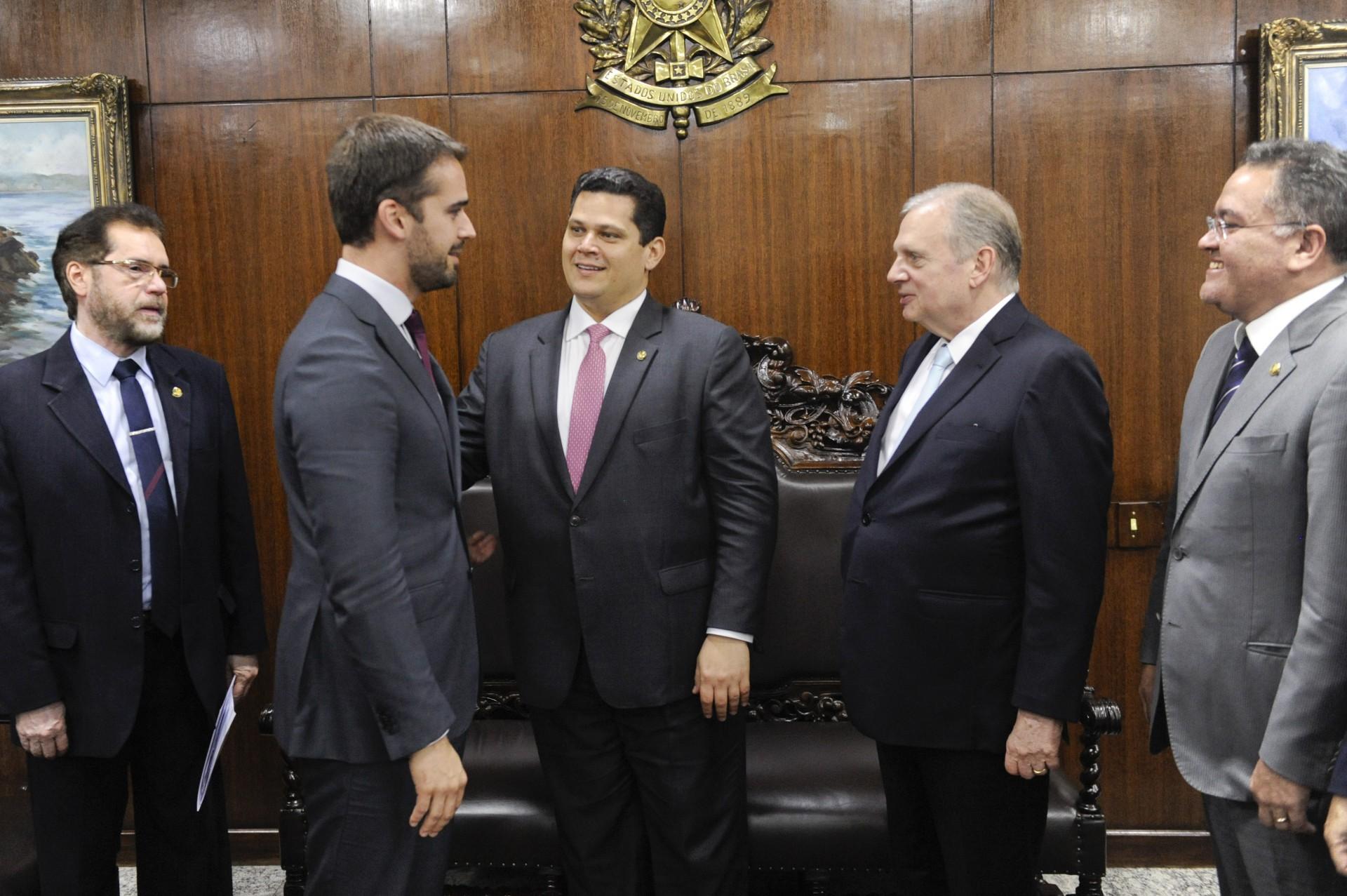 ATUAL governador do RS, Eduardo Leite se aproximou de Tasso Jereissati nos últimos anos (Foto: Jonas Pereira/Agência Senado)