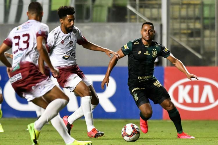 Belo Horizonte (MG), 08.04.2021 - Futebol - Ame (Foto: MOURAO PANDA)