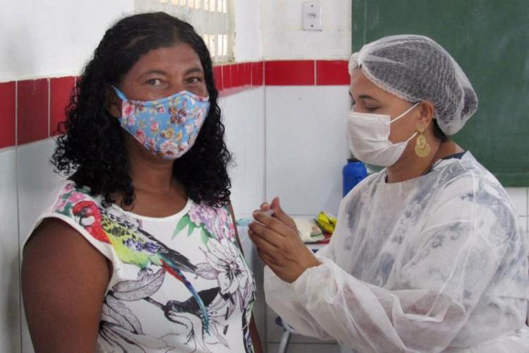 Vacinação nas comunidades quilombolas integra a 2ª fase do Programa Nacional de Imunização (PNI), (Foto: Divulgação/Sesa)