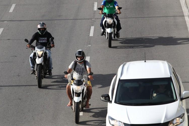 52% dos óbitos no transito no primeiro semestre envolveram motociclistas (Foto: Fabio Lima)