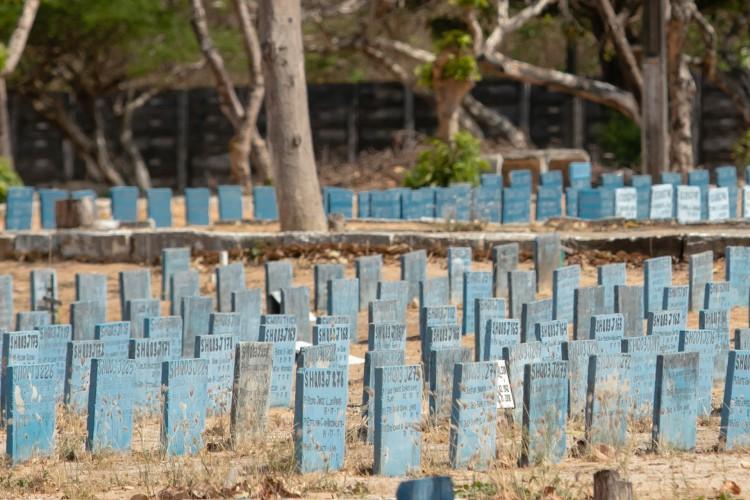 No Brasil, 3.560 pessoas morreram devido a Covid-19 em 24 horas (Foto: Aurelio Alves)
