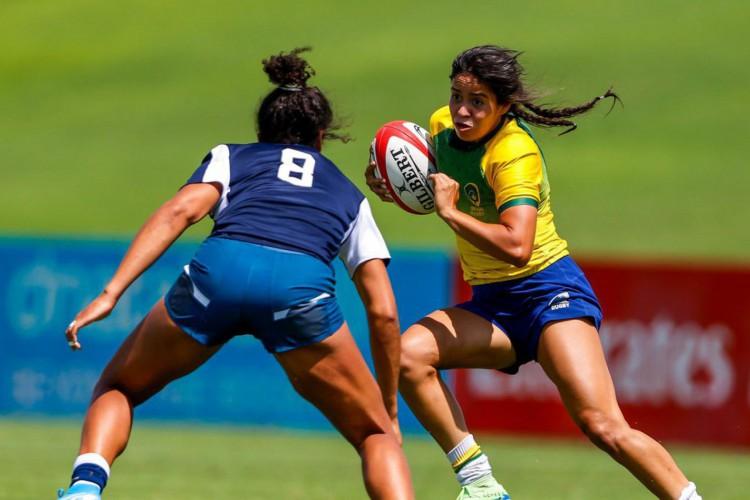 Seleção feminina de rugby encerra 1º dia em Dubai naquartaposição (Foto: )