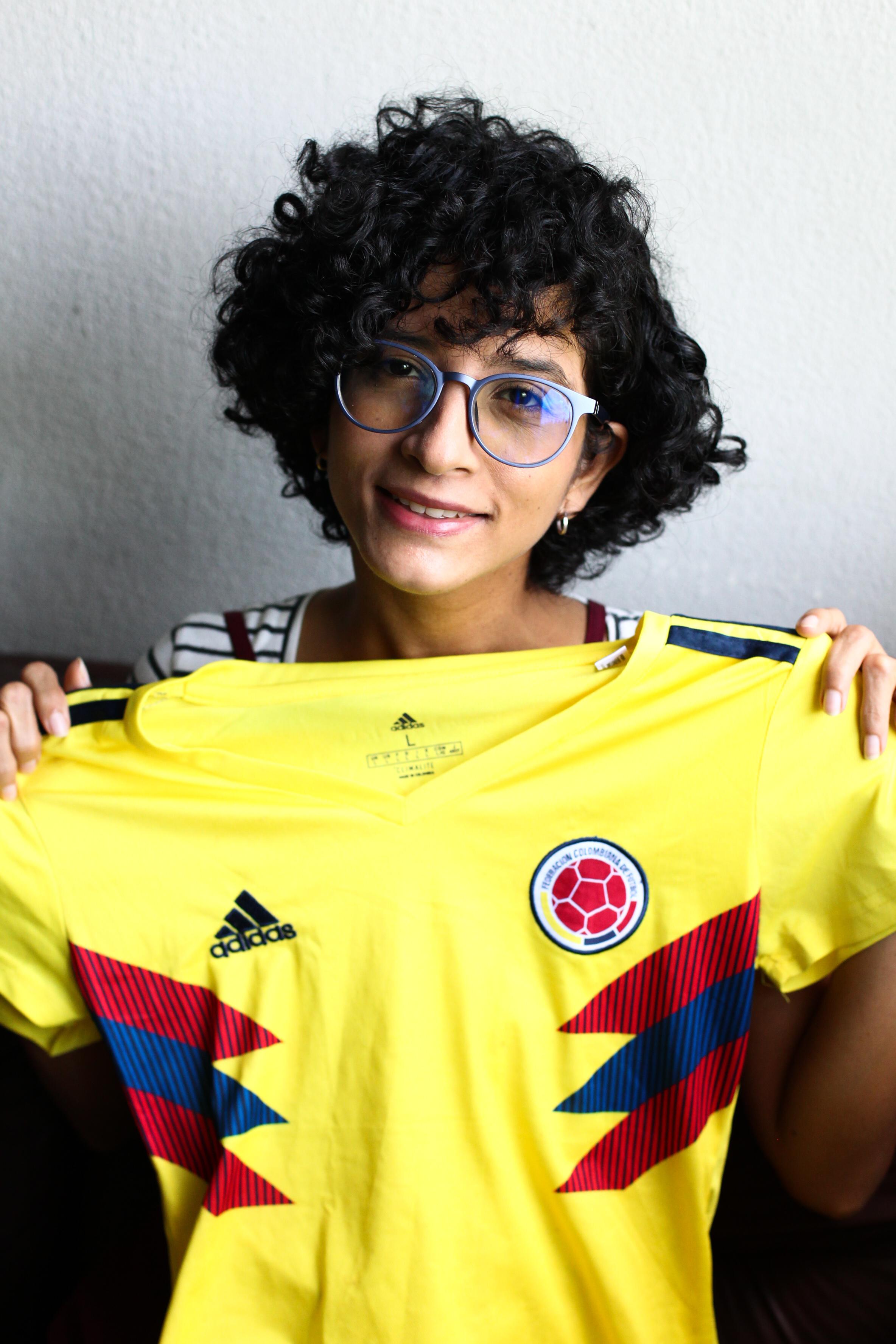 Melina Cantillo Castrillon, engenheira química de 34 anos que após uma curta estadia no Ceará, decidiu mudar-se da Colômbia para fazer do Estado e construiu um novo lar