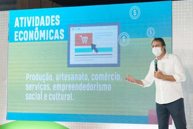 Primeiros contratos do programa de microcrédito orientado do Estado, Ceará Credi, serão assinados na tarde desta segunda-feira, 19; entenda como funciona o programa e quem pode participar (Foto: Divulgação / Governo do Ceará)