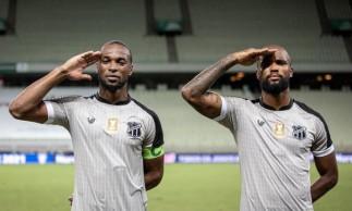 Messias e Luiz Otávio formam dupla de zaga titular do Ceará