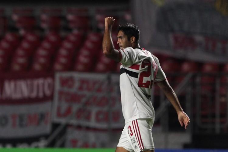 Entre os jogos desta quinta-feira, 29, São Paulo joga contra o Rentistas pela Copa Libertadores da América (Foto: Rubens Chiri / saopaulofc.net)