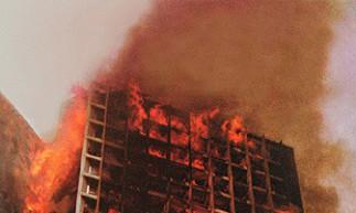 Foto Edificio Joelma em chamas