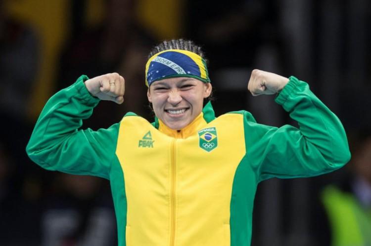Beatriz Ferreira é atual número 1 do ranking mundial de boxe na categoria até 60kg