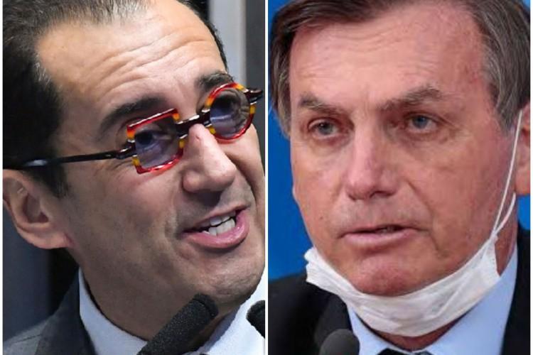 Kajuru gravou conversa com Bolsonaro que repercutiu em todo o País  (Foto: AGÊNCIA BRASIL)