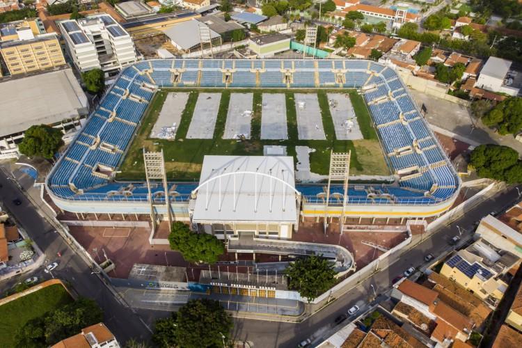 HOSPITAL DE CAMPANHA DO PV funcionou entra abril e agosto de 2020  (Foto: FCO FONTENELE)