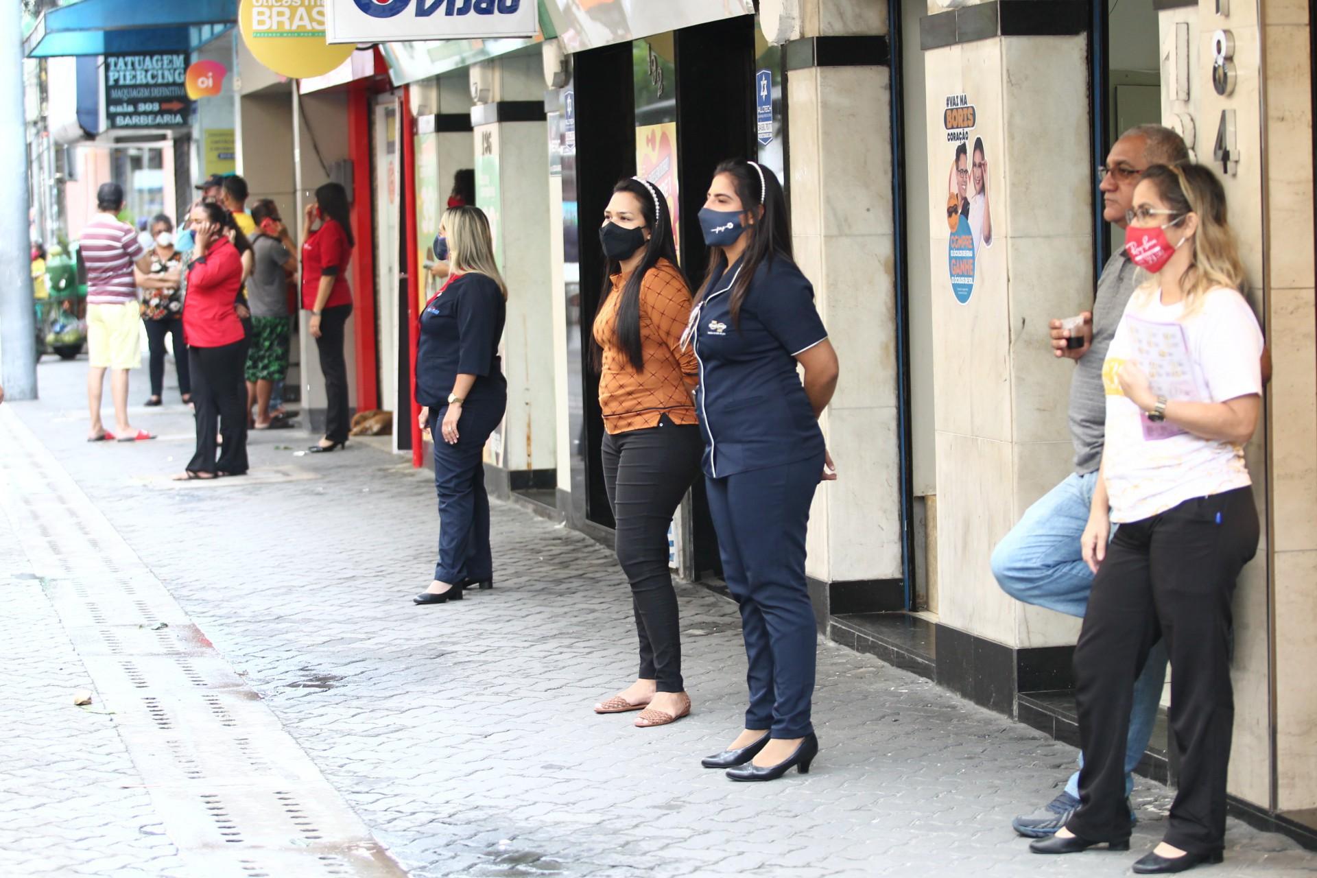 Comércio no Centro de Fortaleza