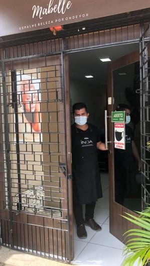 Salão Mabelle se reinventou na pandemia (Foto: Adailma Mendes)