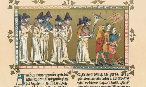 The flagellants at Doornik