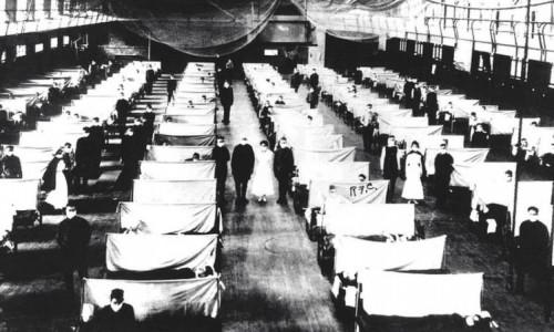 Estima-se que entre 50 e 100 milhões de pessoas tenham morrido por causa da gripe espanhola