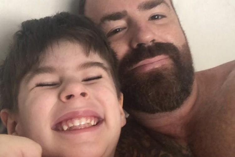 Leniel Borel fez um difícil desabafo sobre a perda do filho, Henry, em uma rede social (Foto: Reprodução/Instagram)