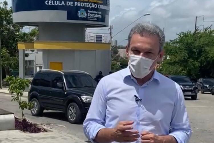 Prefeito José Sarto (PDT) em live nas suas redes sociais (Foto: Reprodução/ Instagram)