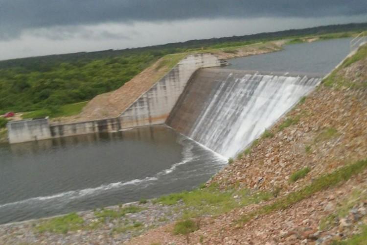 19/02/202 | Fotos do açude Gameleira em Itapipoca (Foto: Reprodução/OGERH - Companhia de Gestão dos Recursos Hídricos)