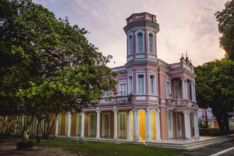 REITORIA DA Universidade Federal do Ceará, na Avenida da Universidade (Foto: Aurelio Alves/O POVO)