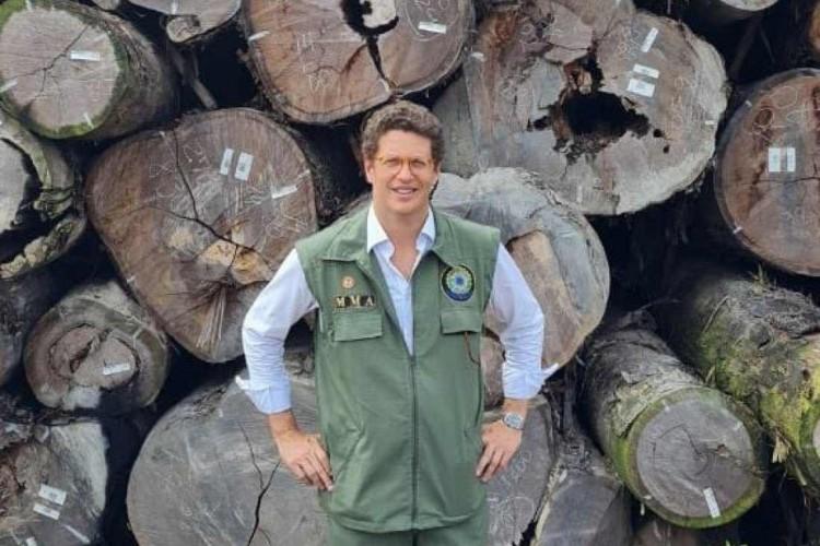 Ricardo Salles é o ministro do Meio Ambiente (Foto: REPRODUÇÃO/TWITTER)