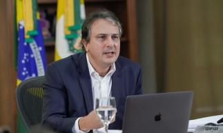 Governador Camilo Santana participou do seminário Brazil Conference, organizado pela Universidade de Harvard/MIT, nesta sexta-feira, 16.