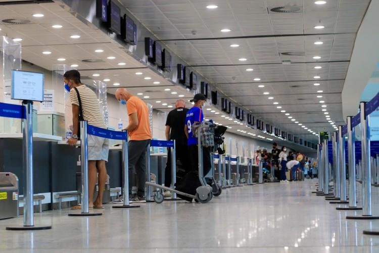 Os aeroportos são porta de entrada para chegada de novas variantes no País. (Foto: BARBARA MOIRA)