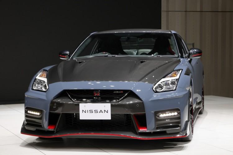 O novo Nissan GT-R Nismo foi apresentado no Japão (Foto: Divulgação/Nissan)