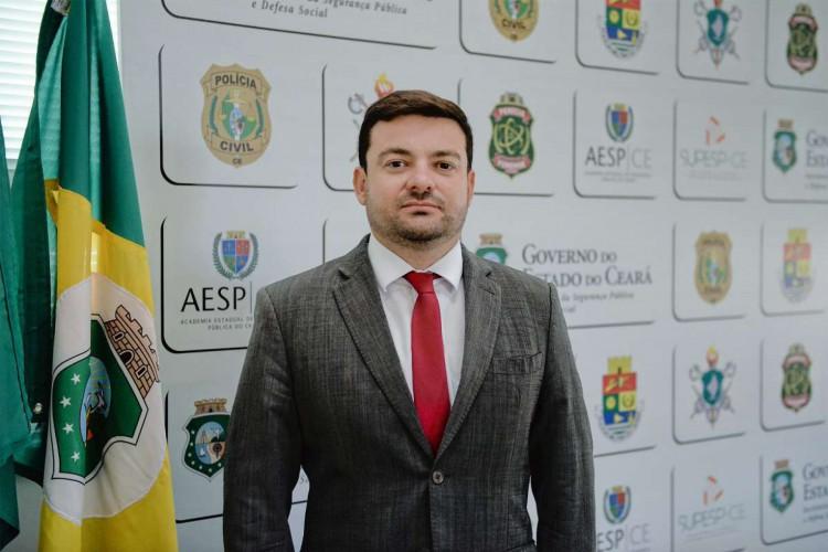 Delegado da Polícia Federal Samuel Elânio assume como secretário-executivo da SSPDS (Foto: Foto: SSPDS)