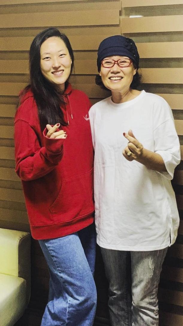 (Foto: Thais Mesquita)Chan young yang de 29 anos e sua mãe, Meejeon jee, 58