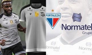 Ceará e Fortaleza irão exibir marca da Normatel na omoplata das camisas em jogos da Copa do Nordeste 2021.