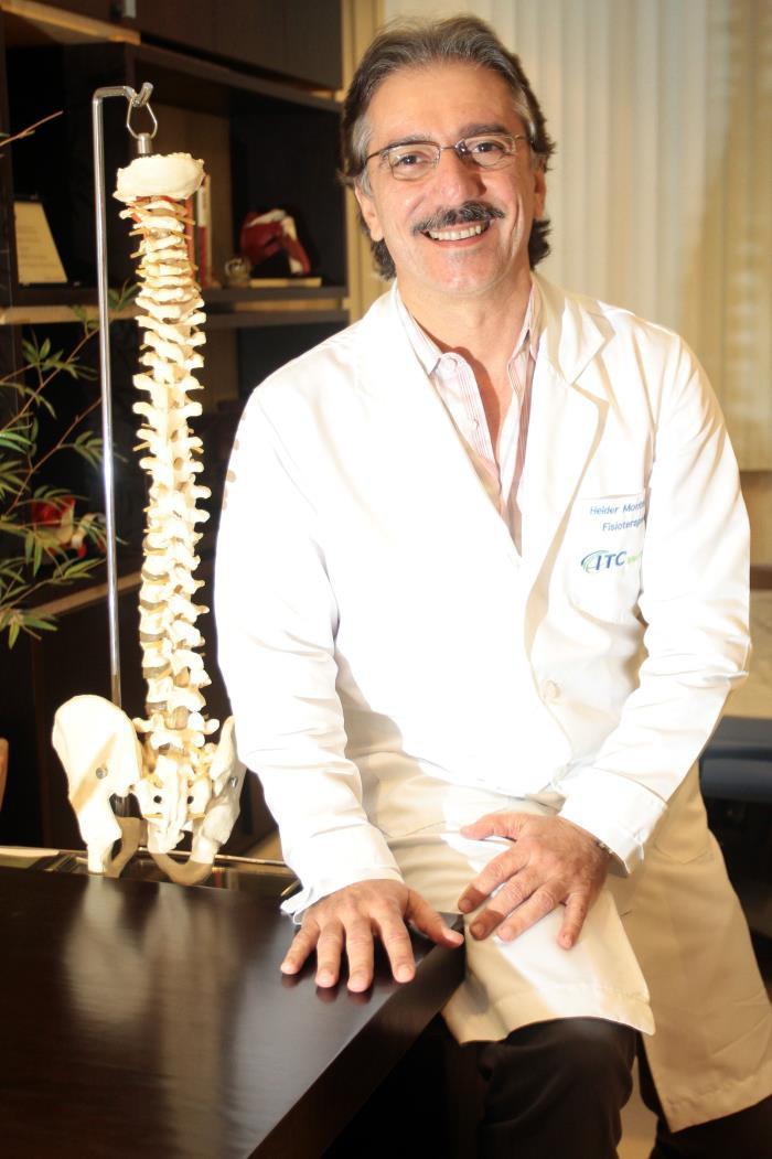 Helder Montenegro, fisioterapeuta e fundador do ITC