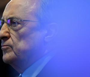 """O presidente do Real Madrid, Florentino Perez, é o mandatário inicial da """"Superliga"""""""