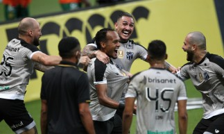 FORTALEZA,CE, BRASIL, 18.04.2021: Jogo pela copa do Nordeste, Ceará vs Sampaio Corrêa. Arena Castelão.  (Fotos: Fabio Lima/O POVO).