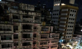 Polícia Militar, Samu e Bombeiros estiveram no local nesta noite.