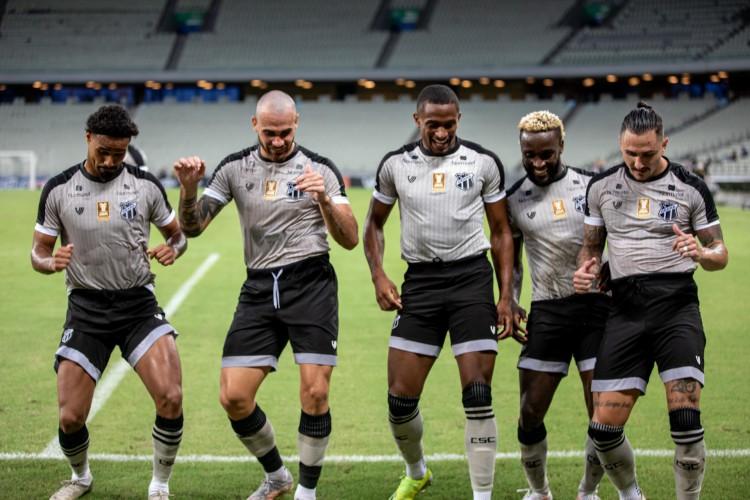 Ataque do Ceará chegou aos 12 gols nos últimos quatro jogos na Copa do Nordeste (Foto: Stephan Eilert/CearaSC)