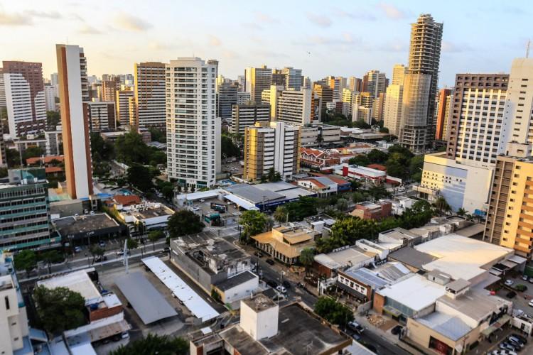 O volume de financiamentos imobiliários no Ceará tem crescido acima da média brasileira (Foto: Barbara Moira)