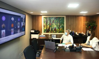 Assinatura dos termos foi realizada em reunião virtual, na manhã desta terça-feira, 20, pelo Prefeito de Fortaleza, José Sarto (PDT)
