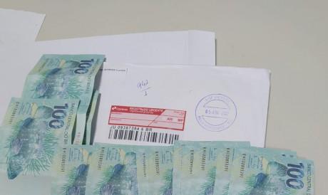 Agentes da Polícia Federal suspeitavam do conteúdo do envio postal