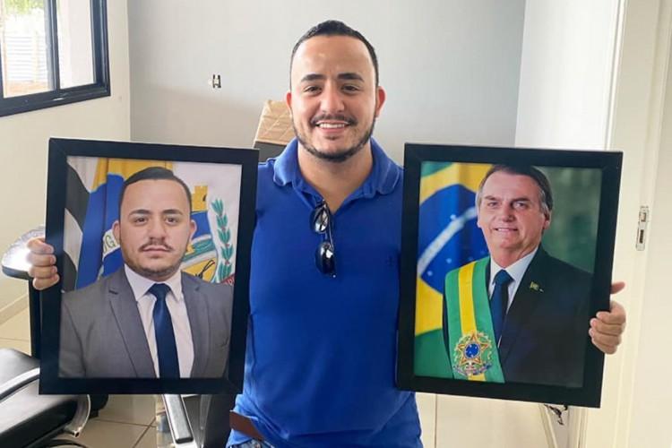 Prefeito de Mirandópolis, Everton Sodario (PSL). (Foto: Reprodução/Facebook)