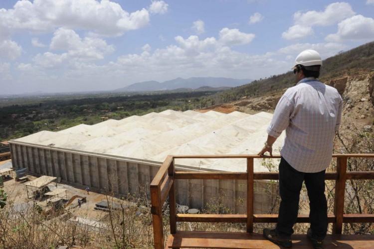 O Taquarão teve investimento de aproximadamente R$160 milhões (Foto: Cagece/Reprodução)