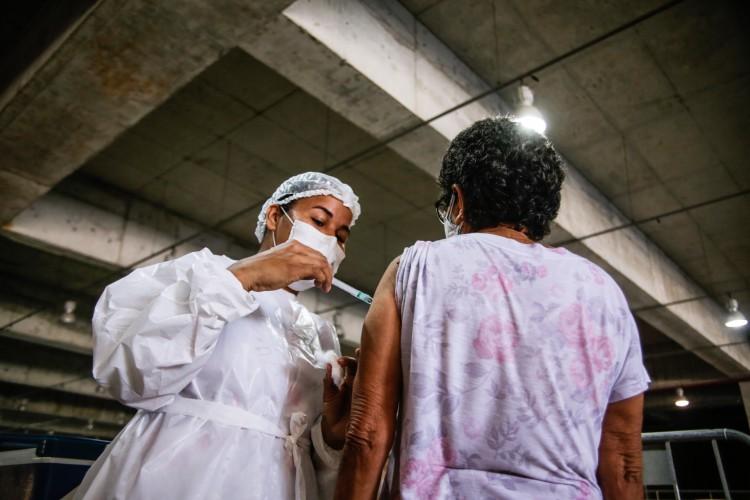 O documento foi direcionado à Secretária de Saúde do Ceará (Sesa) e à Secretária de Saúde do Município de Fortaleza (SMS) receberam nesta quinta-feira, 29. (Foto: Thais Mesquita)