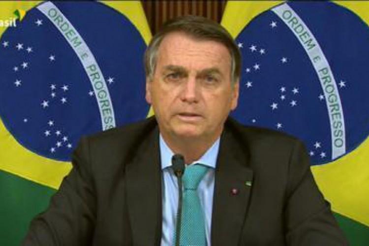 Pressionado, Bolsonaro recua e estabelece neutralidade climática até 2050 durante Cúpula do Clima (Foto: TV BRASIL)